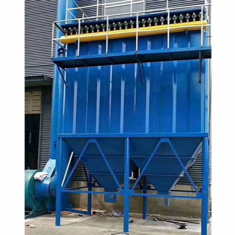 粉尘颗粒除尘器 单机脉冲滤筒除尘器工业锅炉环保脱硫设备锐驰朗制造