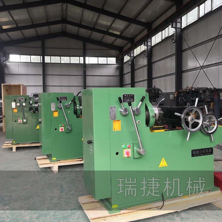手动钢管套丝机 电动螺栓套丝机 瑞捷套丝机厂家价格