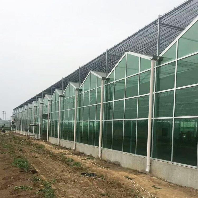 智能温室 光伏大棚骨架 配件 温室配套设施 风机水帘 以利 农业连栋大棚