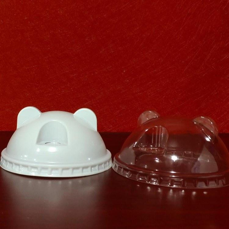 江苏徐州-幸福花塑料熊猫盖订制直销厂家