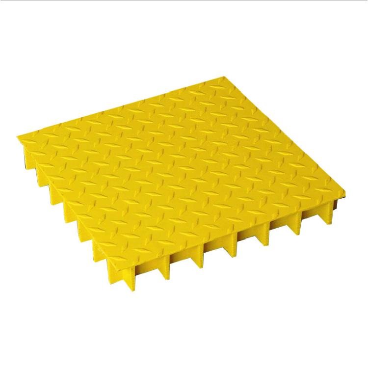 百达瑞地面网格板排水沟格栅盖板防腐玻璃钢格栅