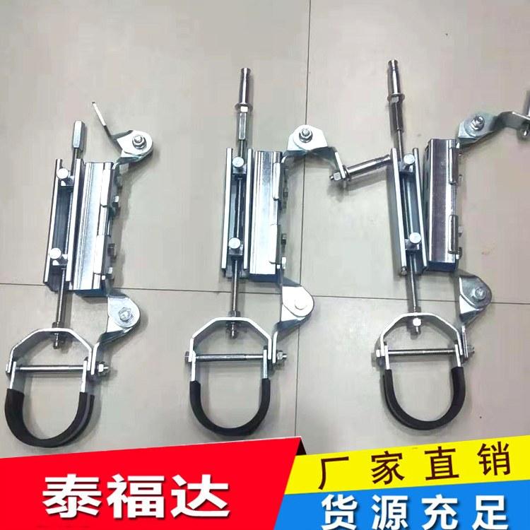 产地源头厂家生产水管侧纵向抗震支架 抗震配件