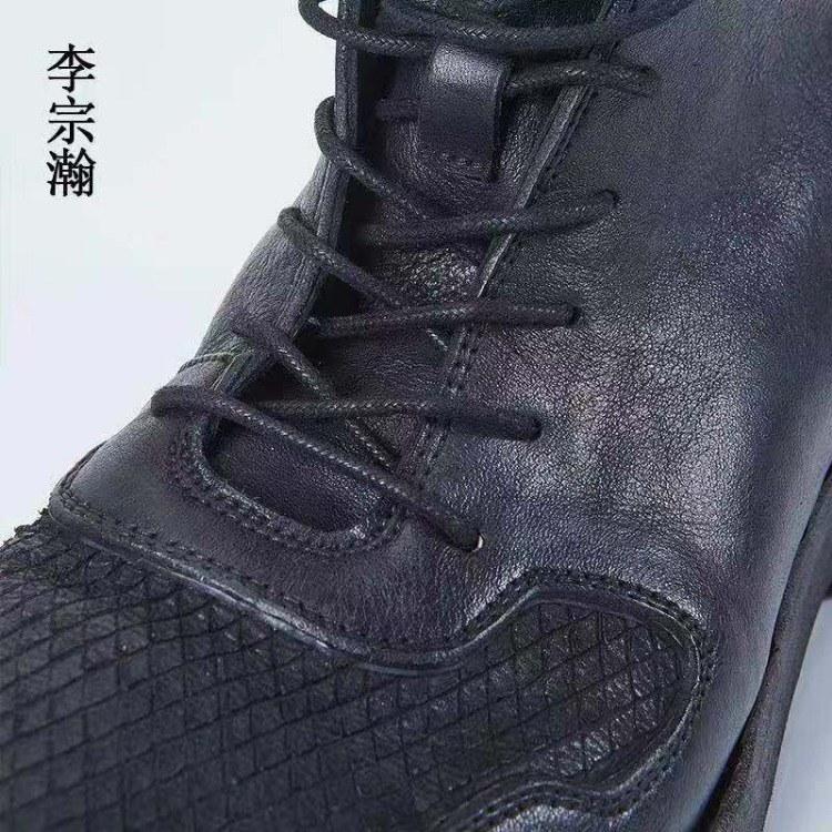 马丁靴批发厂家 新款马丁靴厂家休闲短靴