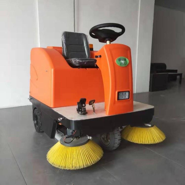 工业清扫马路电动扫地车 山东瑞立 物业全自动扫地车