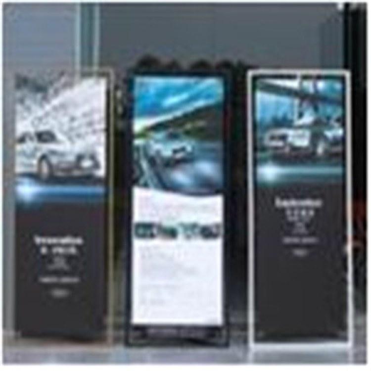 加厚铝合金易拉宝展示架 海报展示架批发 X展架