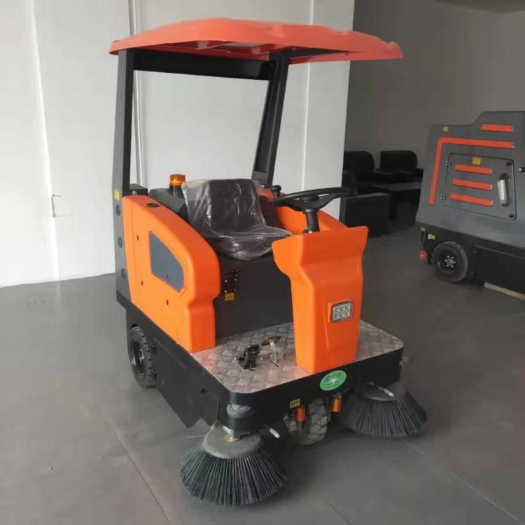 工业户外驾驶式扫地车 山东瑞立 多功能清扫吸尘扫地车