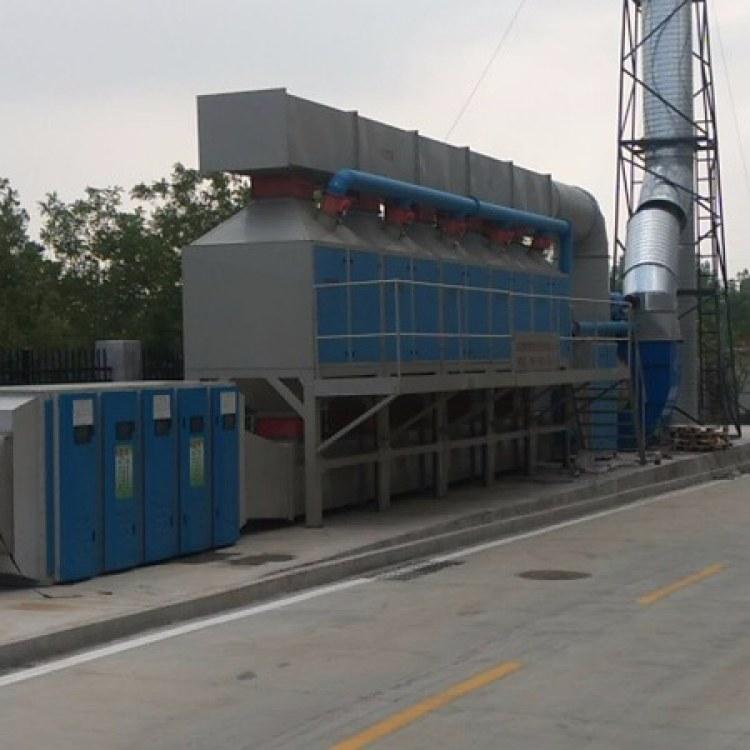 RCO催化燃烧设备 喷漆印刷有机废气催化燃烧 废气处理设备 活性炭吸附脱附装置