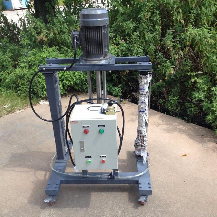 安培力 2.2kw高剪切均质乳化机 500mm高速分散粉碎自动升降乳化机