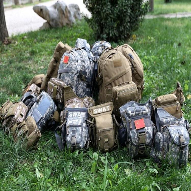 户外运动军迷战术腰包 休闲运动登山野营配件腰包 拓野厂家发货