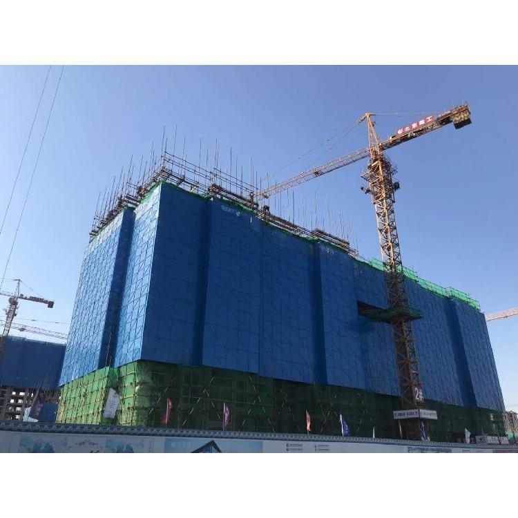 高层建筑安全防护网脚手架喷塑防护网片米字建筑爬架网工地高层安全网