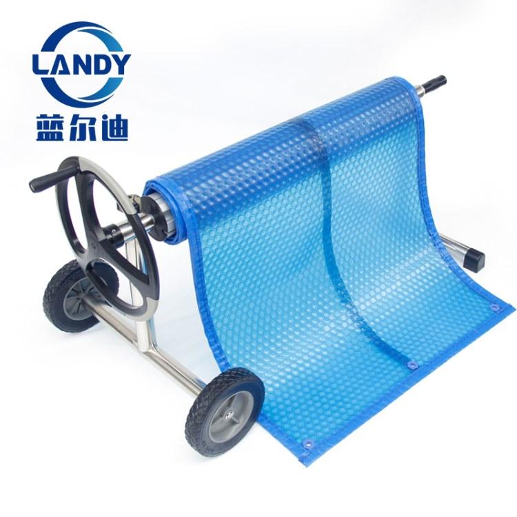 蓝尔迪厂家泳池设备 泳池盖布收卷器 保温盖配套设备