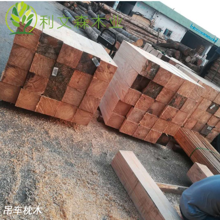佛山枕木厂家直销 铝雕模大木方 火车轮船汽车吊车枕木垫木
