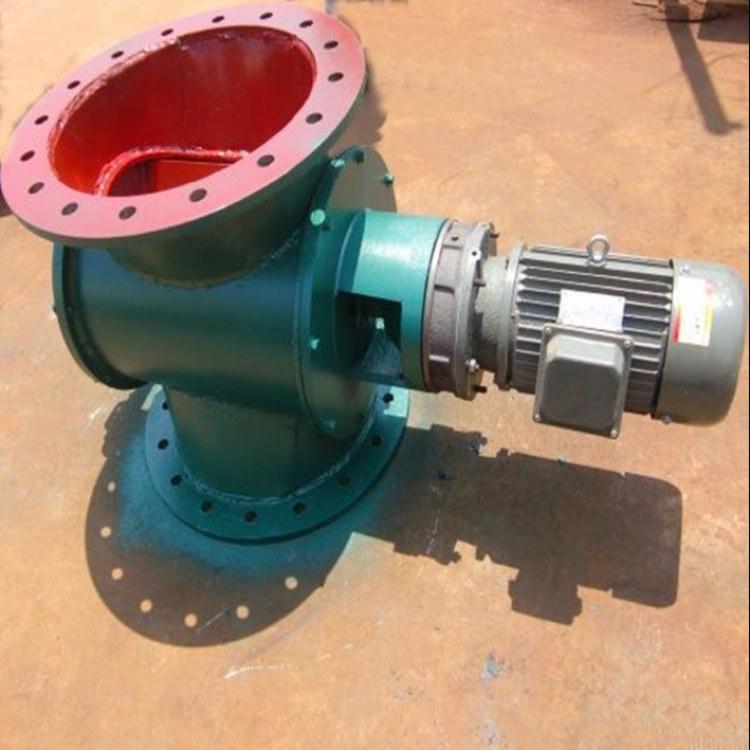 防爆 电动 YJD-A圆口星型卸料器碳钢-不锈钢-高温星型卸料器 运行平稳 支持定制