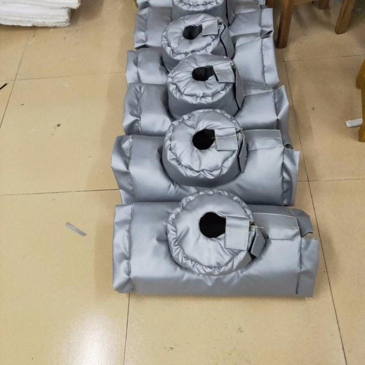 阀门保温罩  可拆卸阀门保温套  定制阀门保温衣的优点