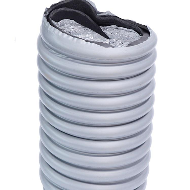 中央空调软管高端消音空调软管铝箔通风河企
