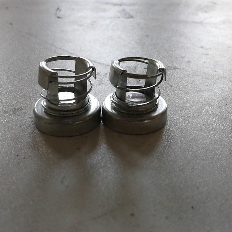 汽车散热器零件  泄压阀 冲压件组装件 可定制