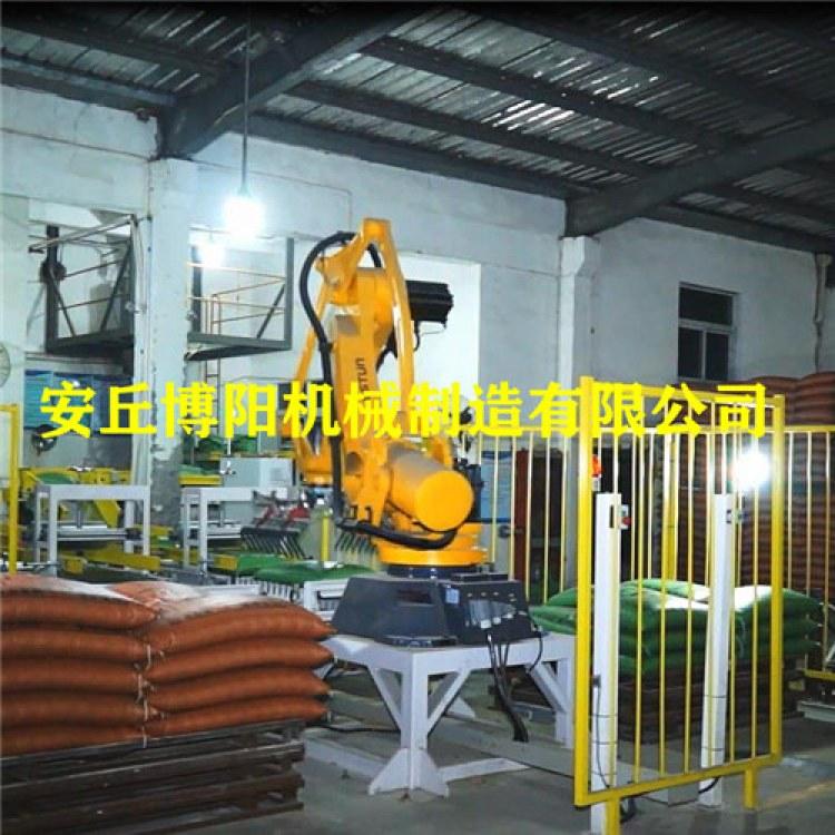 水泥袋码垛机器人 自动码垛机工作流程