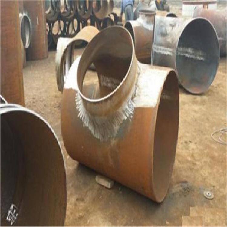 型号齐全 对焊无缝三通 焊制三通 厂家供应量大优惠