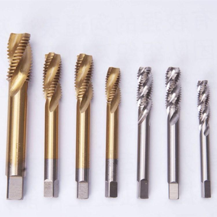 销售厂家 螺旋槽 普通高速钢 M7机用丝锥GB3464.1-3标准