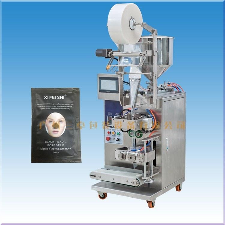 廣州化妝品袋裝機廠家 三卓包裝機械 液體試用裝包裝機