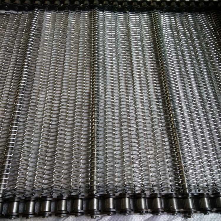 不锈钢网带 链条式不锈钢网带 森喆输送链条