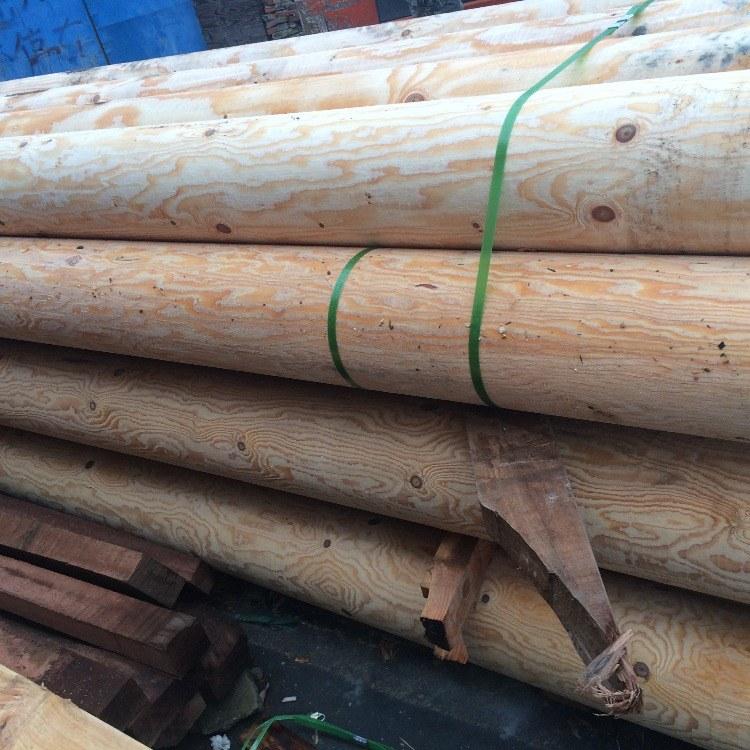 美国南方松-南方松圆柱-南方 松深度碳化木一手货源找上海沪景木业