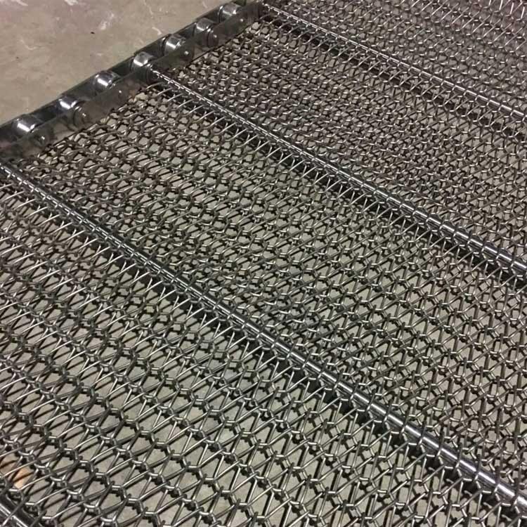 金属网带 不锈钢网带厂家 森喆金属食品输送带