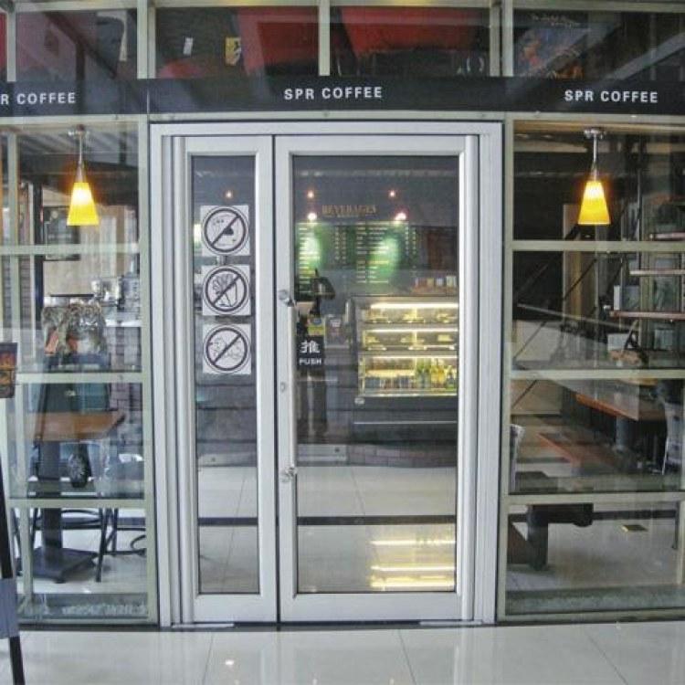 莆田80重型地弹门 2.5-3.0厚度重型地弹门 适用于酒店政府大楼