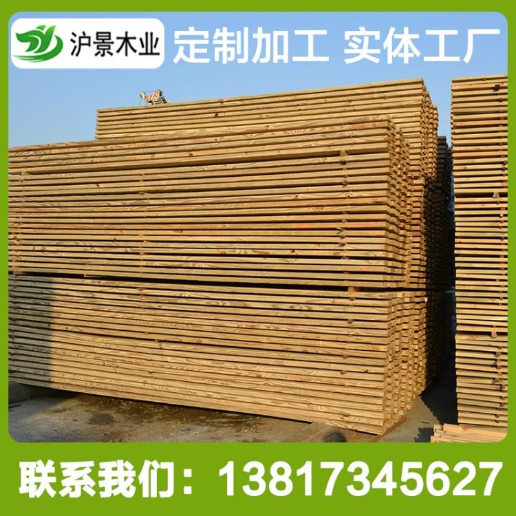 沪景热销美国南方松防腐木板材户外碳化木地板实木樟子松防腐木栅栏