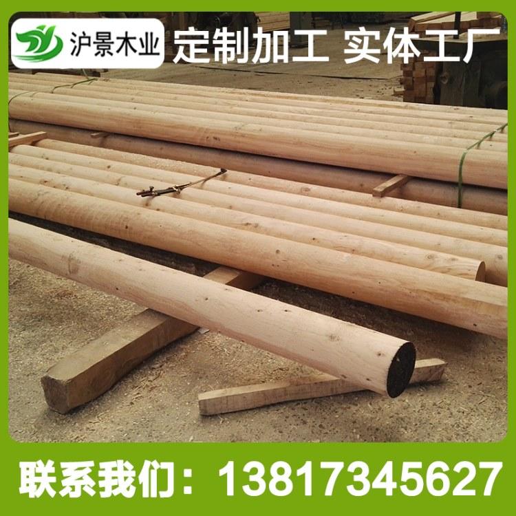 沪景高端铁杉建筑木方 耐腐蚀实木建筑木方工程 进口铁杉木材加工