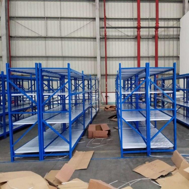 仓储货架 中型轻型重型仓库服装置物架 库房储藏架