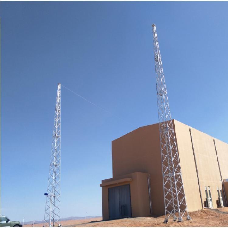 晟泓避雷铁塔 楼顶不锈钢饰铁塔 建筑的防雷工程制造厂商