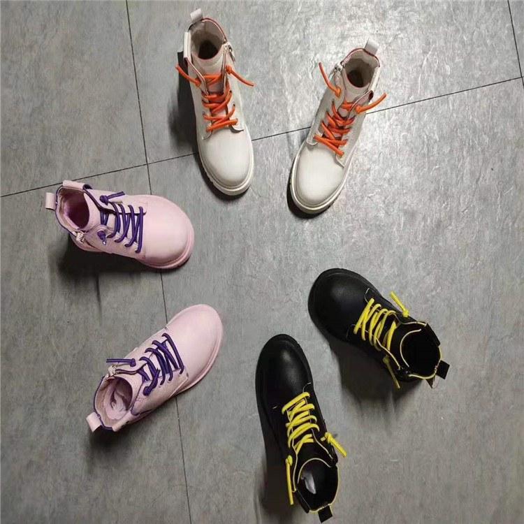 巴布豆 一线品牌童装童鞋尾货折扣批发走份 冬季新款二棉鞋 大棉鞋 厂家直销货源