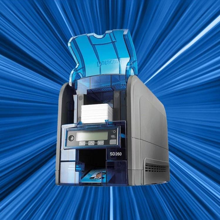 新得利Datacard SD260证卡打印机 成都社保IC卡打印机设备生产厂家直销
