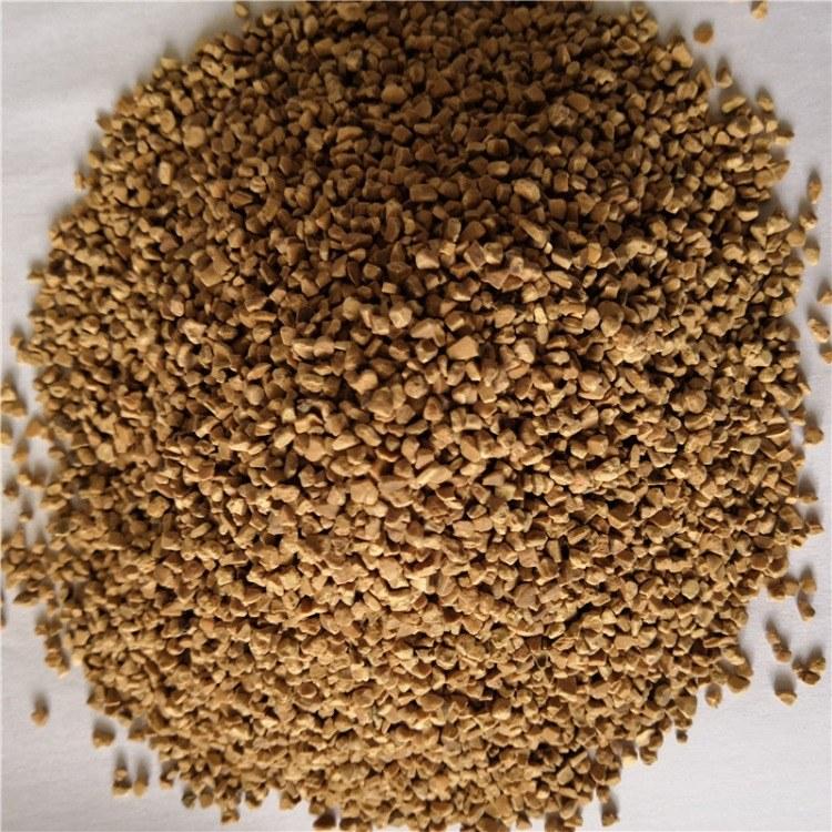 厂家长期供应果壳滤料 油田助剂专用核桃壳果壳粉 核桃颗粒