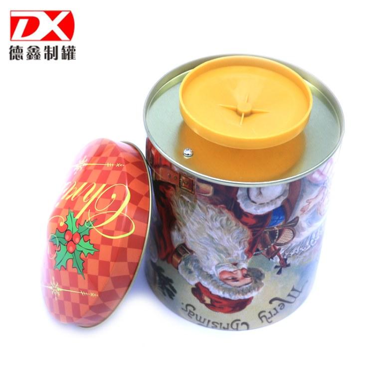 食品收纳盒 饼干收藏盒子 马口铁罐包装定制 铁罐生产厂家