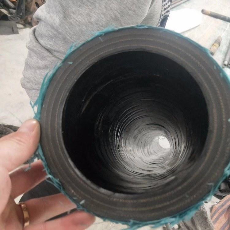 金泽管业生产喷砂胶管耐高压钢丝胶管