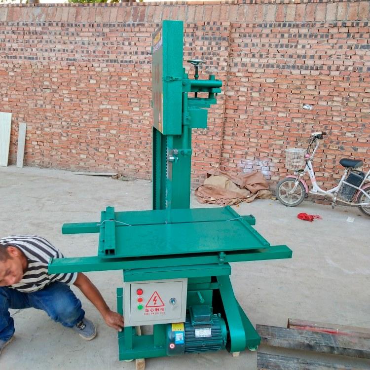 腾建建筑加气块泡沫砖电动立式环保切砖机安徽厂家直销台式多功能切砖机