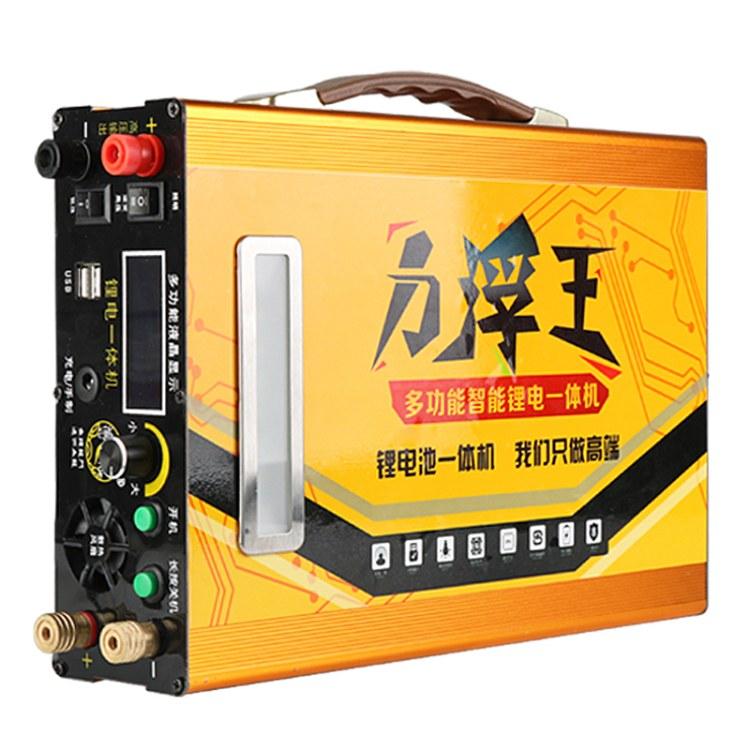 新款电鱼电池电鱼器12V100Ah锂电一体机大容量动力锂电池厂家直销