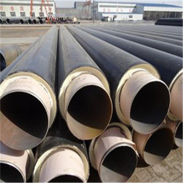 精品推荐 预制聚氨脂直埋保温管 钢套钢直埋保温钢管 品质卓越