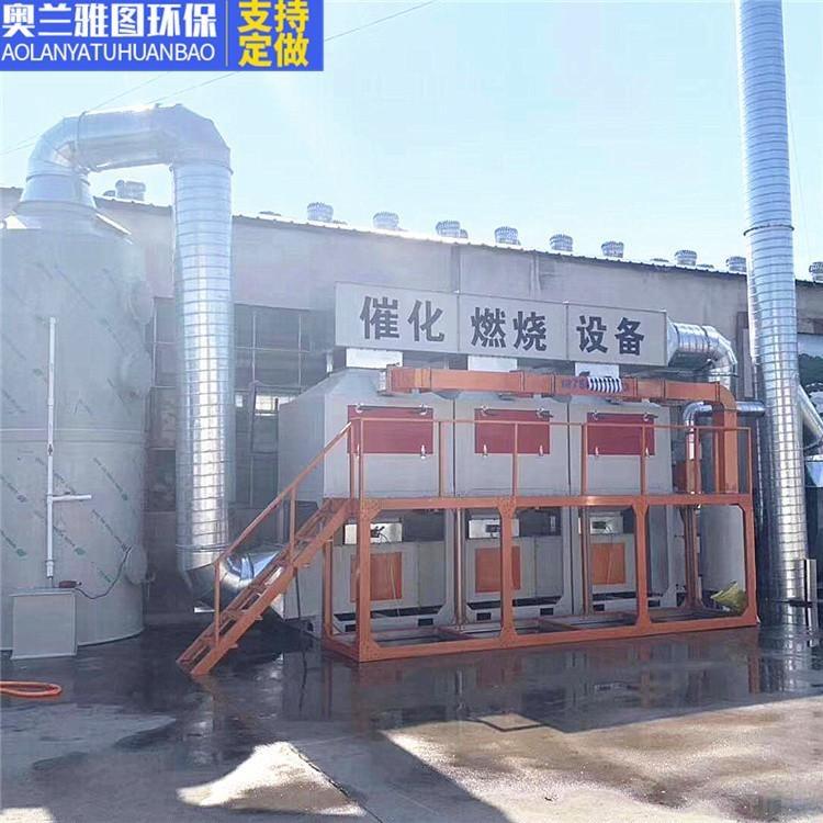 催化燃烧设备喷漆VOCs有机废气催化燃烧