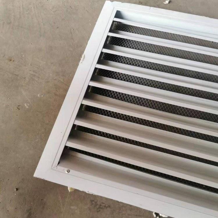 供应潍坊地区 单层百叶式出风口不带网 通风 中央空调风口可定做