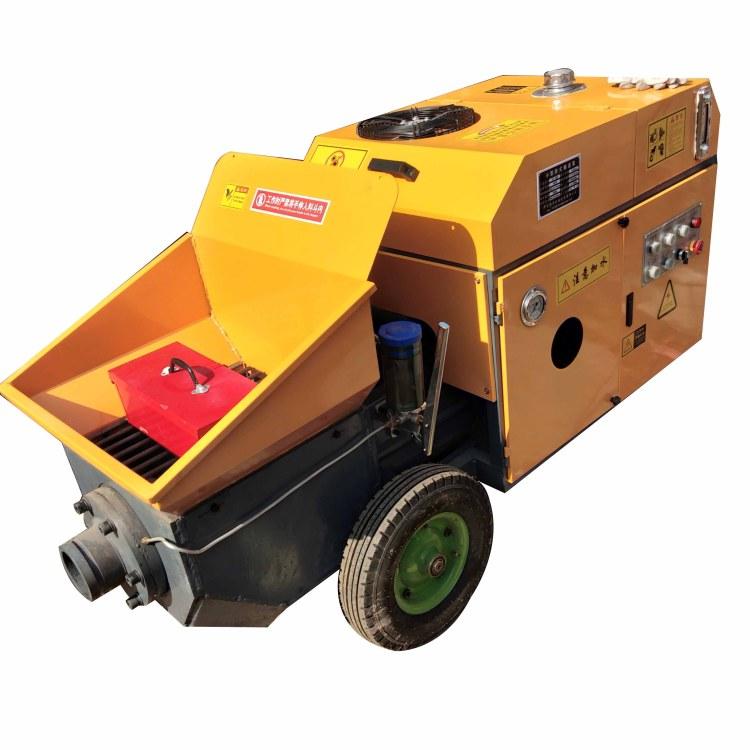 水泥浇灌泵 混凝土输送泵 细石泵