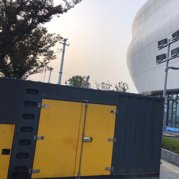 供应锦旷400KW静音节能高效发电机出租 上海浙江发电机租赁出租 应急供电