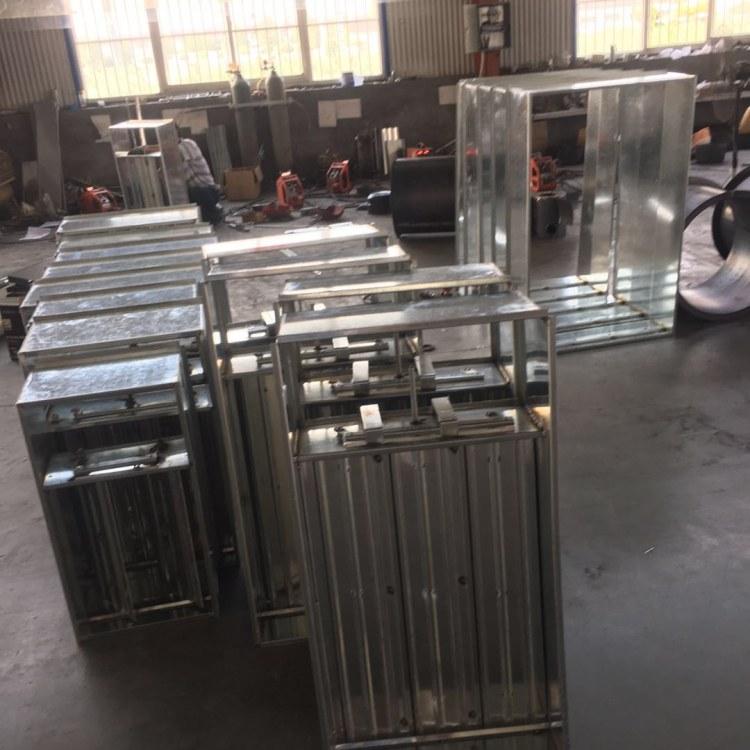 润博厂家生产电动风量调节阀  镀锌板调节风量阀 支持定制 尺寸齐全  鲁德润博