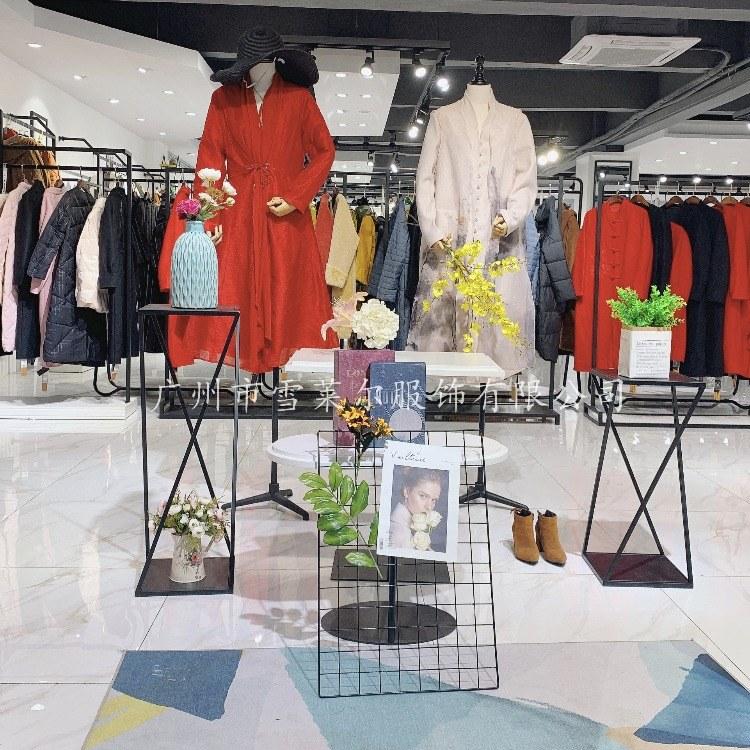雪莱尔水墨生香广州知名品牌女装一手货源广州石井批发市场清仓折扣品牌女装
