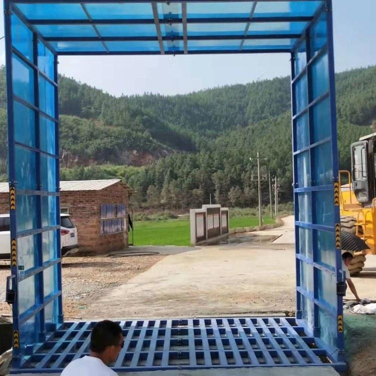 环保工程洗轮机 方管式洗轮机 全封闭工程洗轮机生产厂家直销 优质互惠