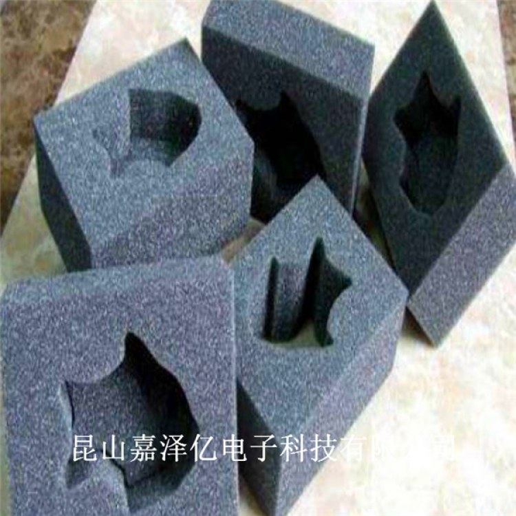 PU减震海绵 聚氨酯黑色海绵 高密度PU密封垫异形件