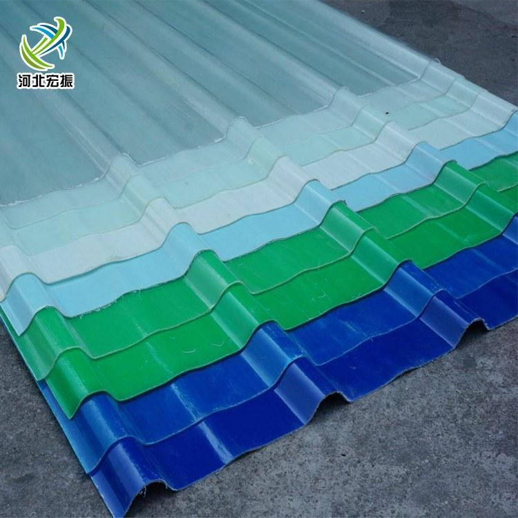 玻璃钢厂家定制阳光棚屋面专用采光瓦 透光片阻燃采光板