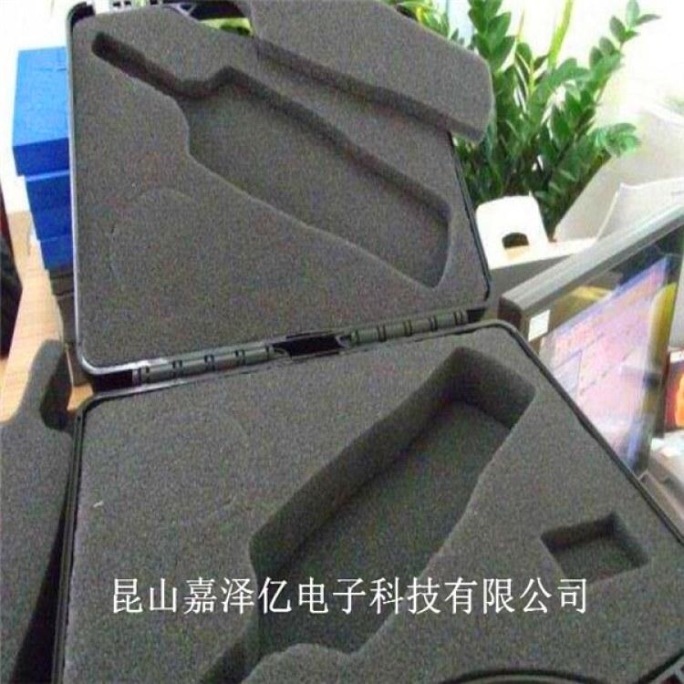 昆山PU海绵工具盒 EVA海绵密封条 黑色聚氨酯包装盒厂家